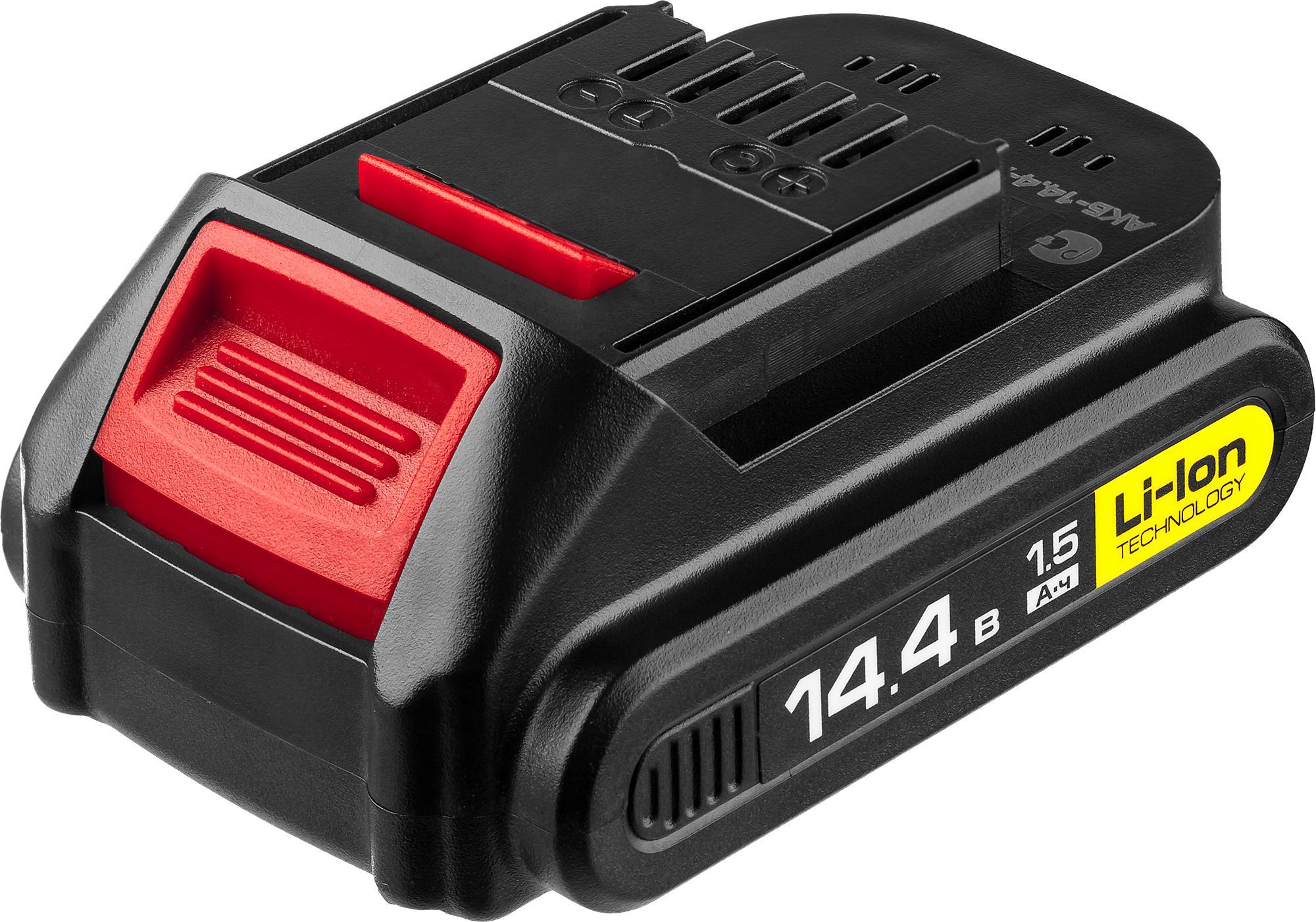 Аккумулятор ЗУБР АКБ-14.4-Ли 15М2