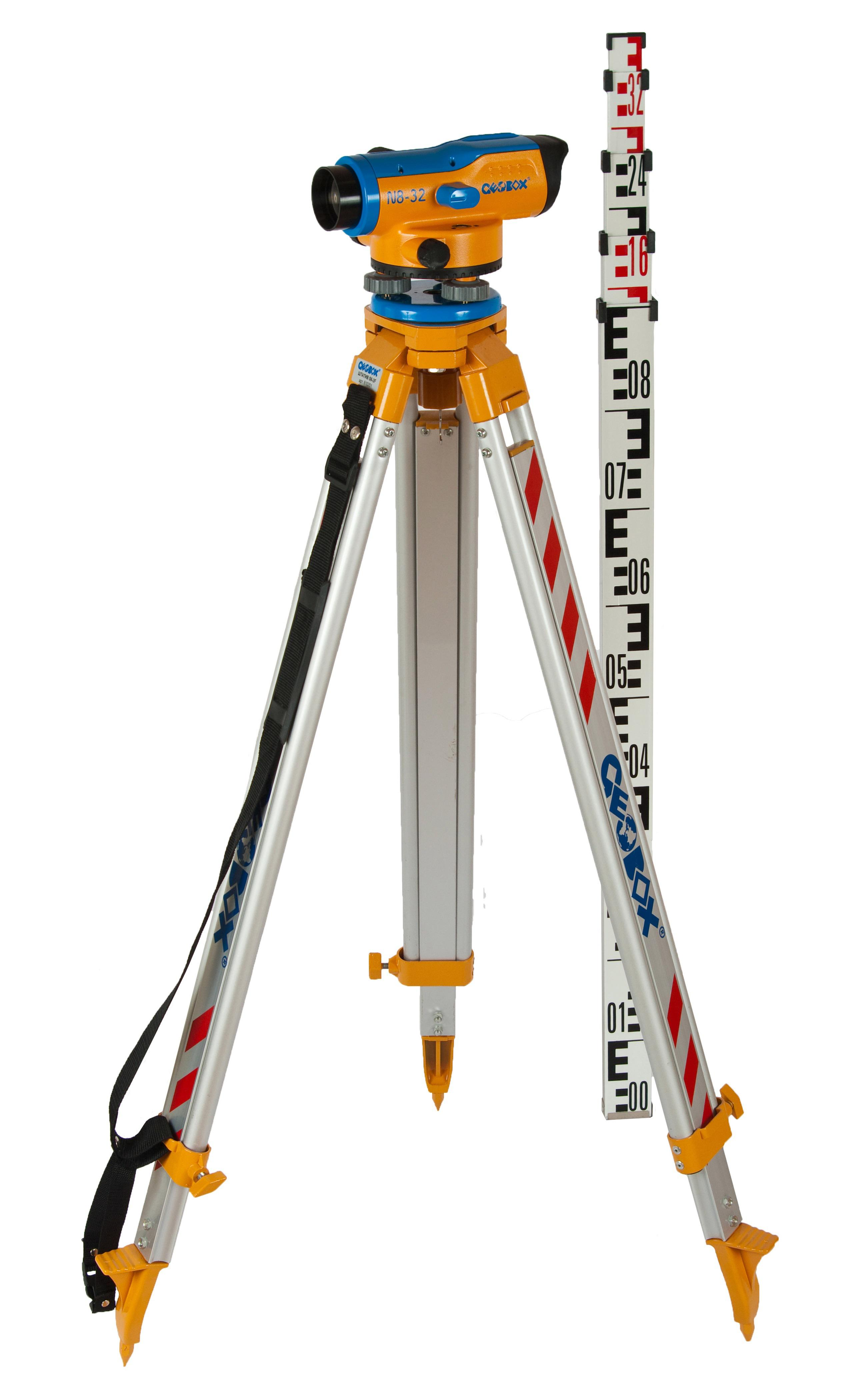 Нивелир оптический Geobox N8-32 trio