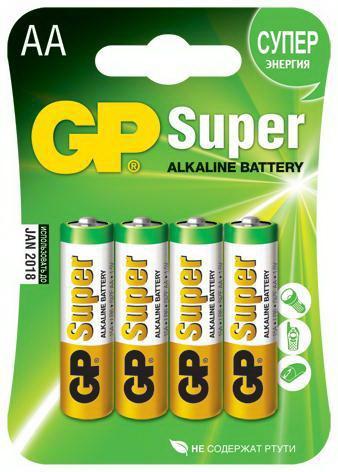 Картинка для Батарейка Gp 15a-2cr4