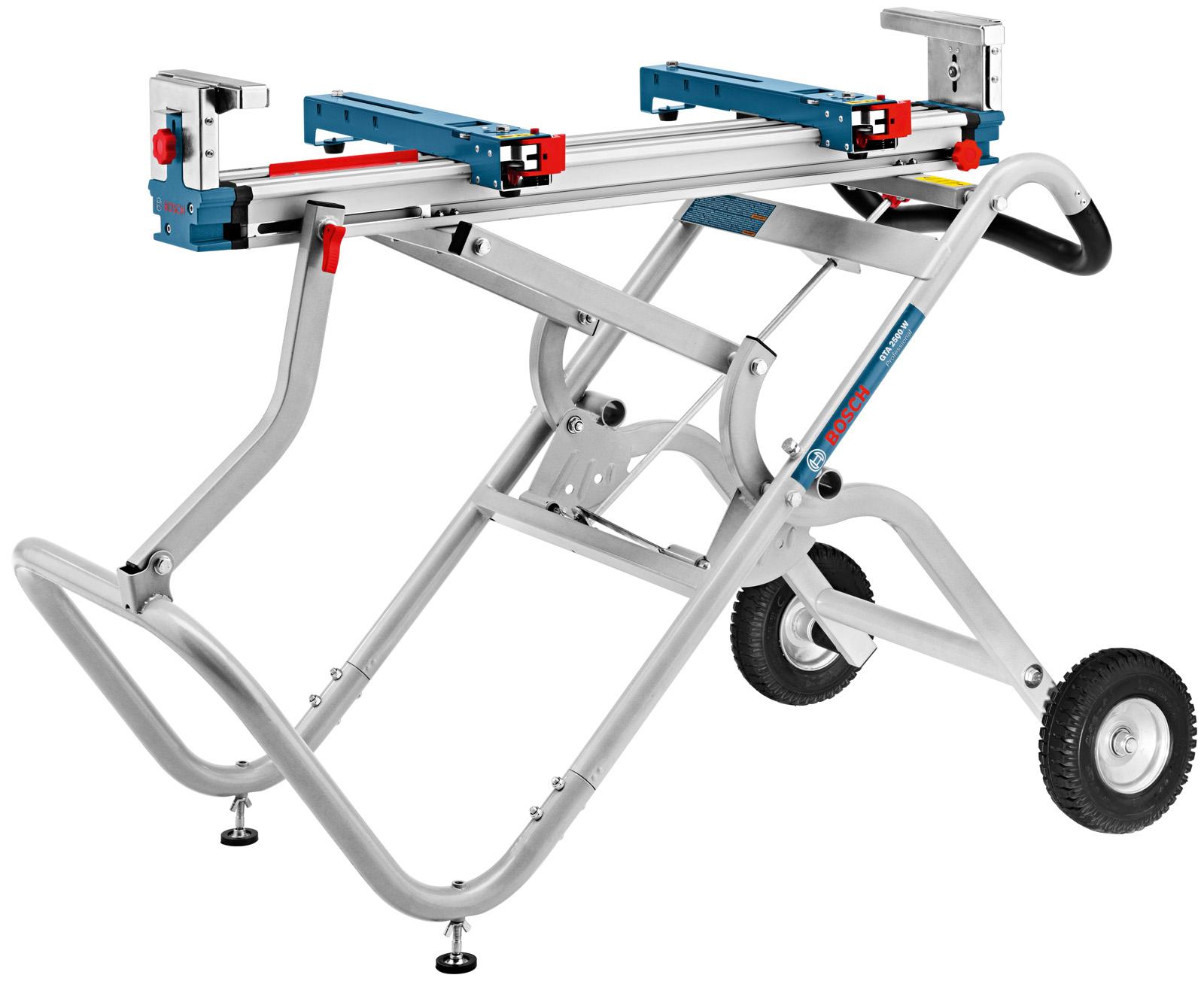 Купить со скидкой Стол для торцовочной пилы складной, передвижной Bosch Gta 2500 w  (0.601.b12.100)