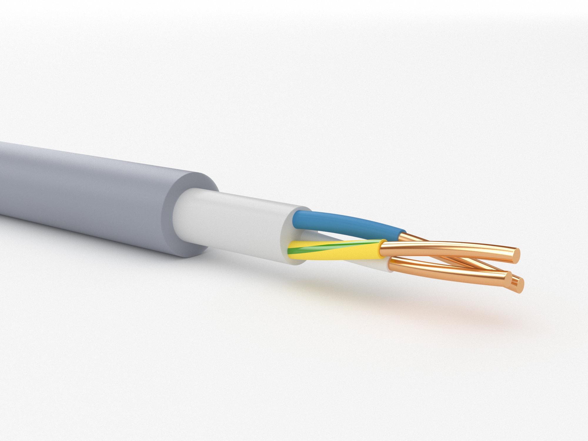 Кабель ПАРТНЕР-ЭЛЕКТРО Nym 3х4 ГОСТ (10м) кабель партнер электро nym 2х1 5 гост 100м