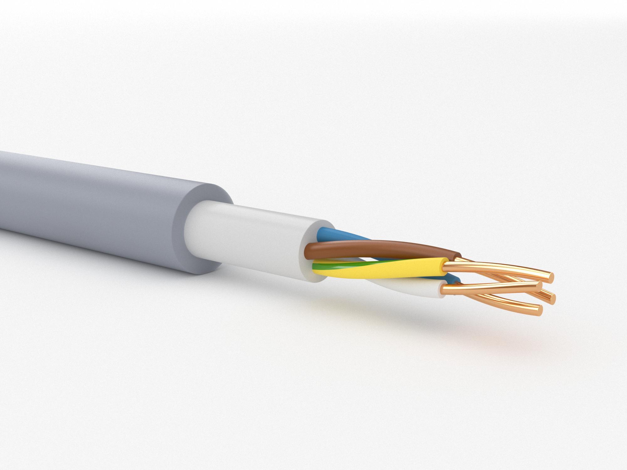 Кабель ПАРТНЕР-ЭЛЕКТРО Nym 4х2,5 ГОСТ (20м) кабель партнер электро nym 2х1 5 гост 100м
