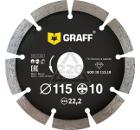 Круг алмазный GRAFF GDD 18 115.10