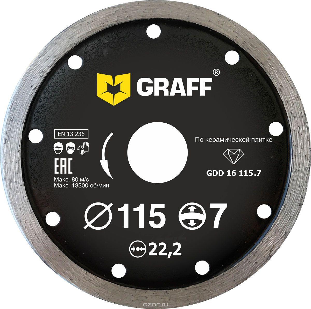 Картинка для Круг алмазный Graff Graff gdd 16 115.7