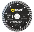Круг алмазный GRAFF GDD 17 125.10