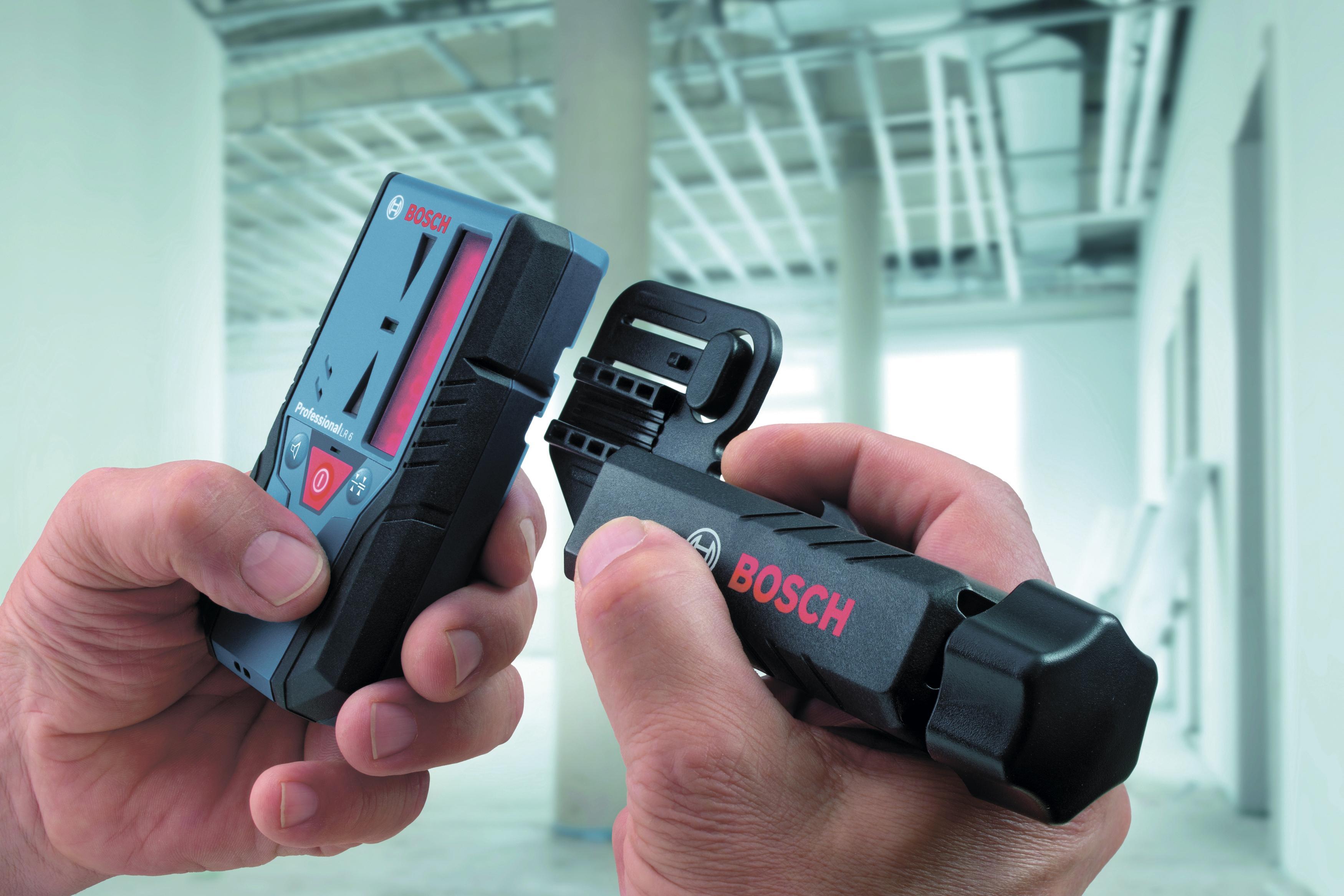 Уровень Bosch Gcl 2-50 + rm1 + bm3 + lr6 + кейс (0601066f01)