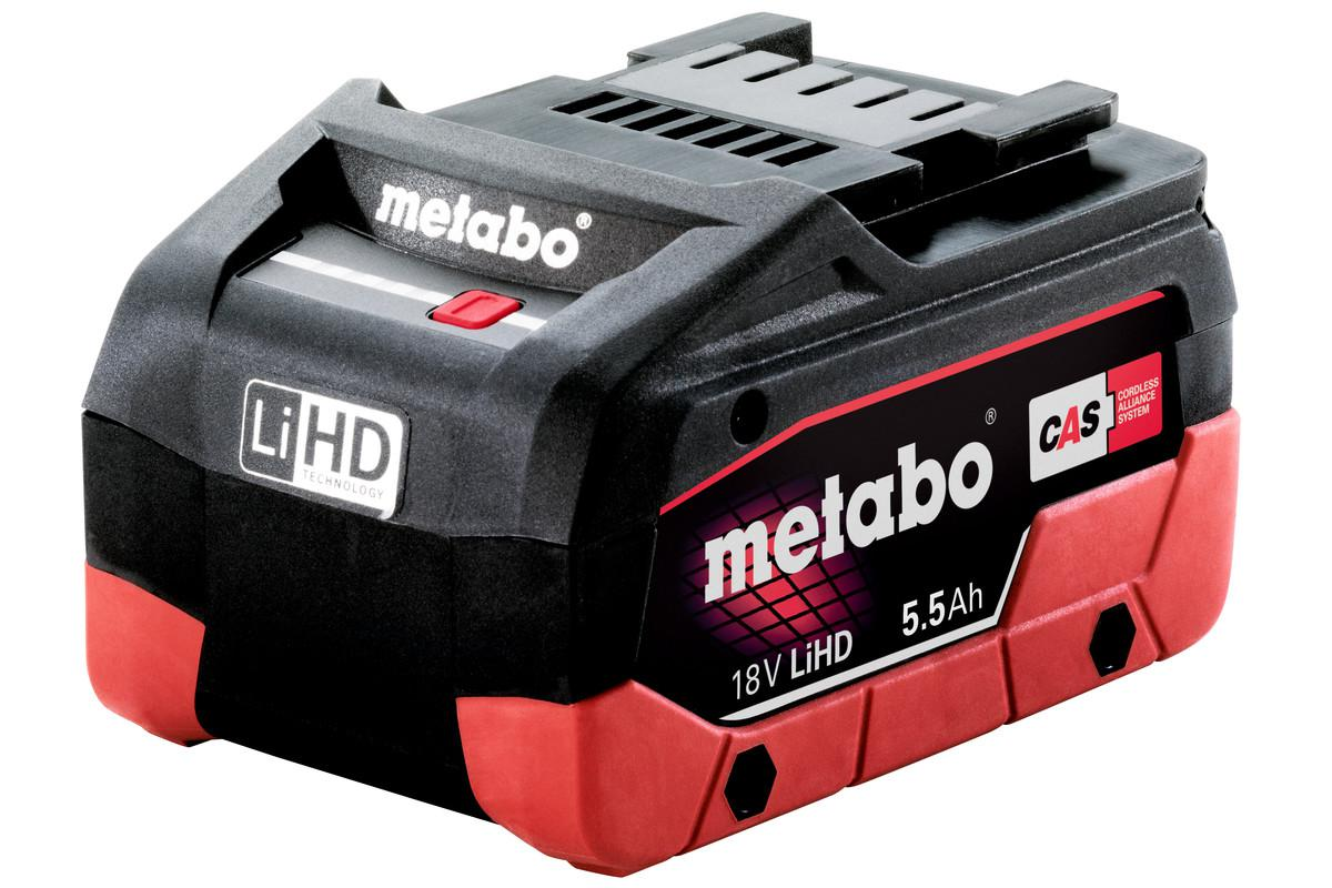 Аккумулятор Metabo 18В 5.5 Ач (625368000) аккумулятор metabo lihd18v 5 5ач 625368000