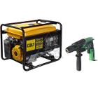 Набор COLT Бензиновый генератор Sheriff 5000 (499301) +Дрель ударная FDV16VB2-NV