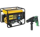 Набор COLT Бензиновый генератор Sheriff 6500 (49970 250 020) +Дрель ударная FDV16VB2-NV