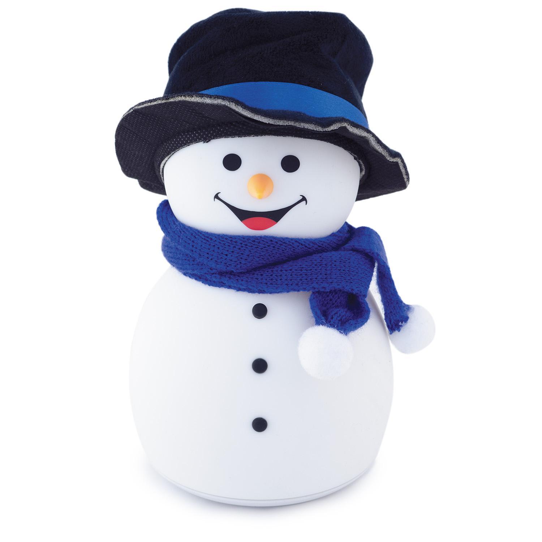 Ночник ЛЮЧИЯ 141 Снеговик в шляпе