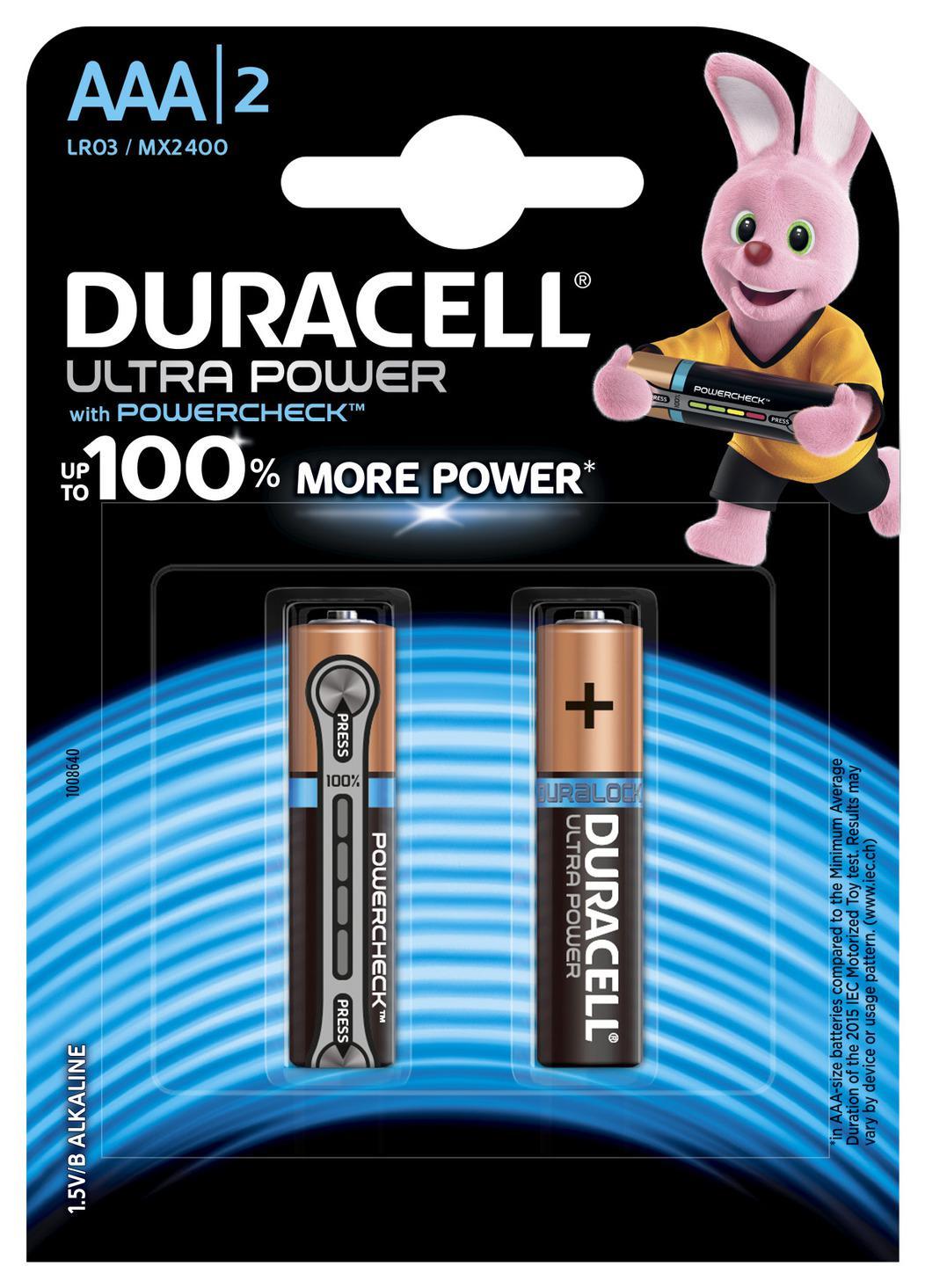 Батарейка Duracell Lr03-2bl батарейка duracell lr03 2bl basic б0026812
