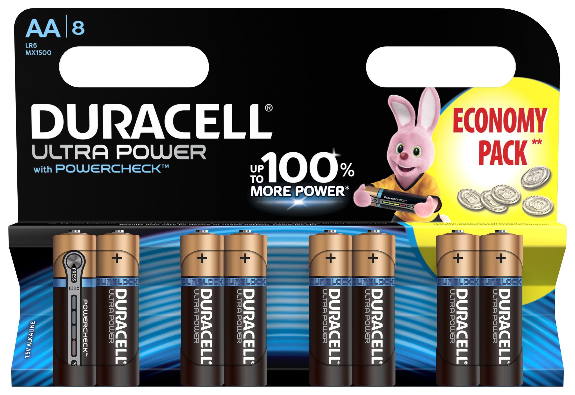 Батарейка Duracell Lr6-8bl