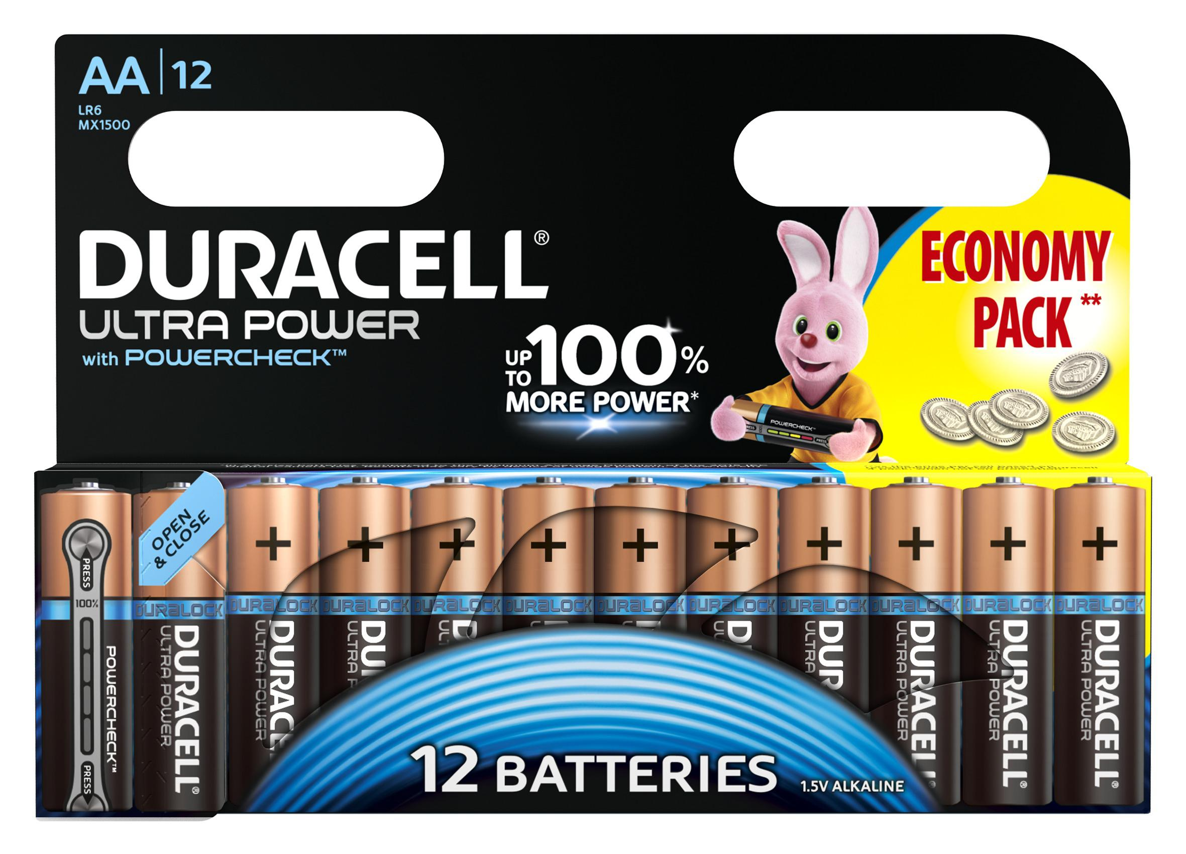Батарейка Duracell Lr6-12bl