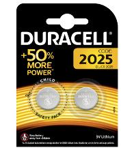 DURACELL CR2025-2BL Тип: CR2025 (Кол-во в уп. 2шт.)