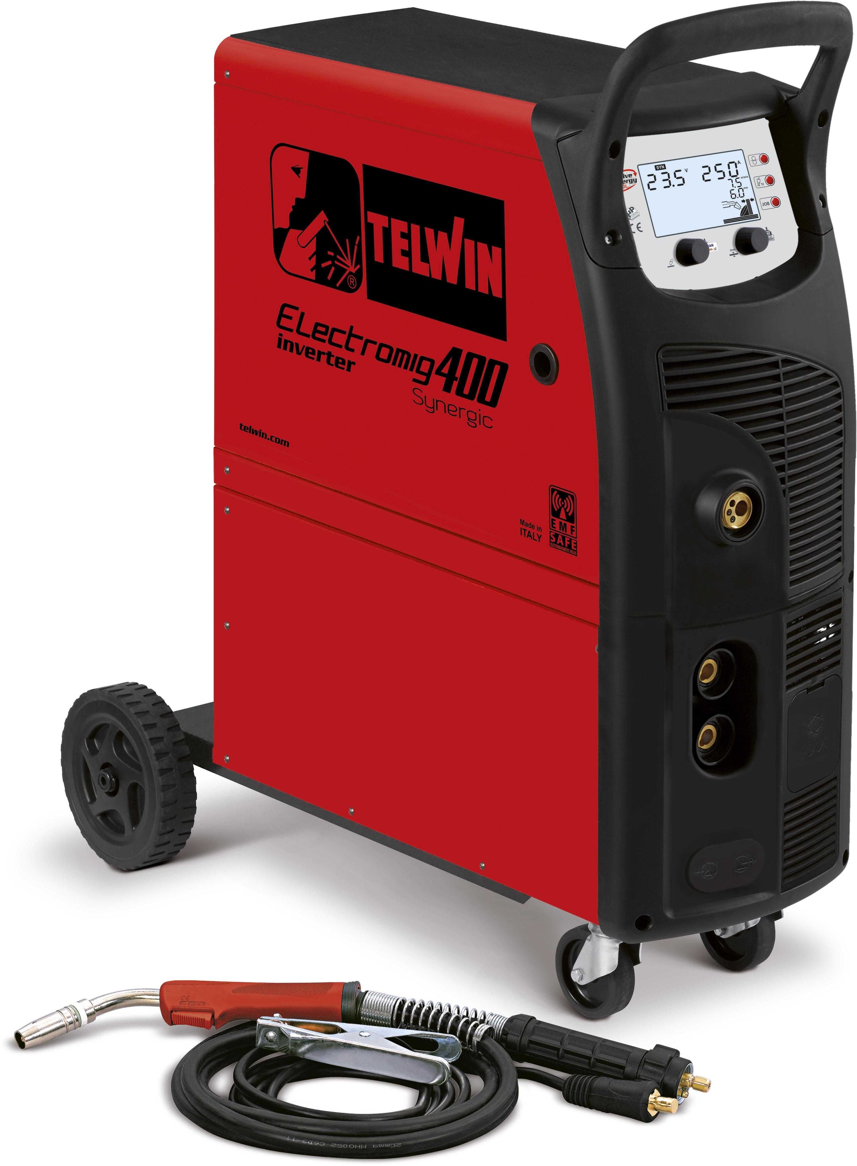Сварочный полуавтомат Telwin Electromig 400 synergic 230/400v (816090)