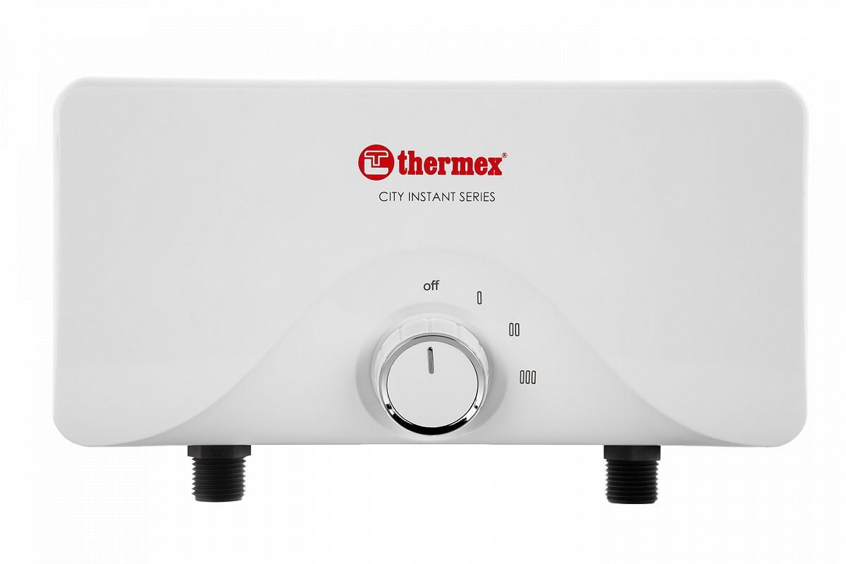 Водонагреватель электрический проточный Thermex City 5500 цена и фото