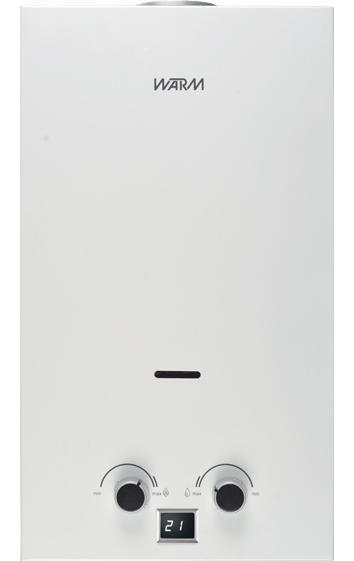 Водонагреватель проточный газовый Warm Aquos 10l va12010 водонагреватель проточный edison viva 5500