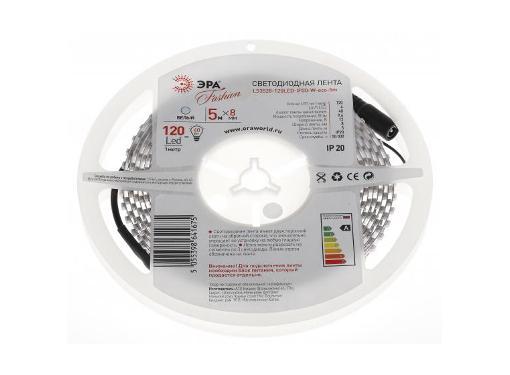 Лента светодиодная ЭРА LS3528-120LED-IP20-W-eco-5m Б0002337
