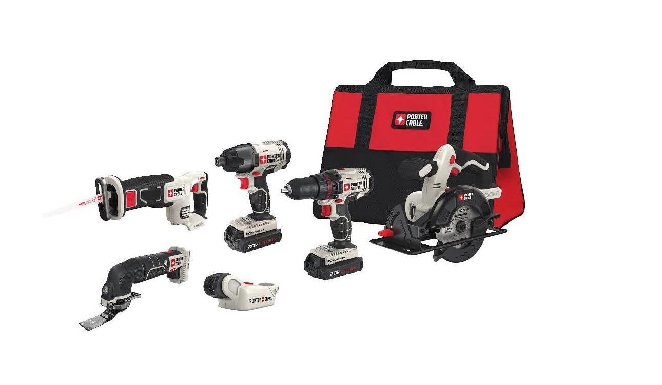 Набор Power tools Pcck6116 20В 2Ач li-ion