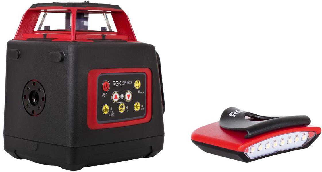 Набор Rgk Уровень sp-400 +Фонарь flash