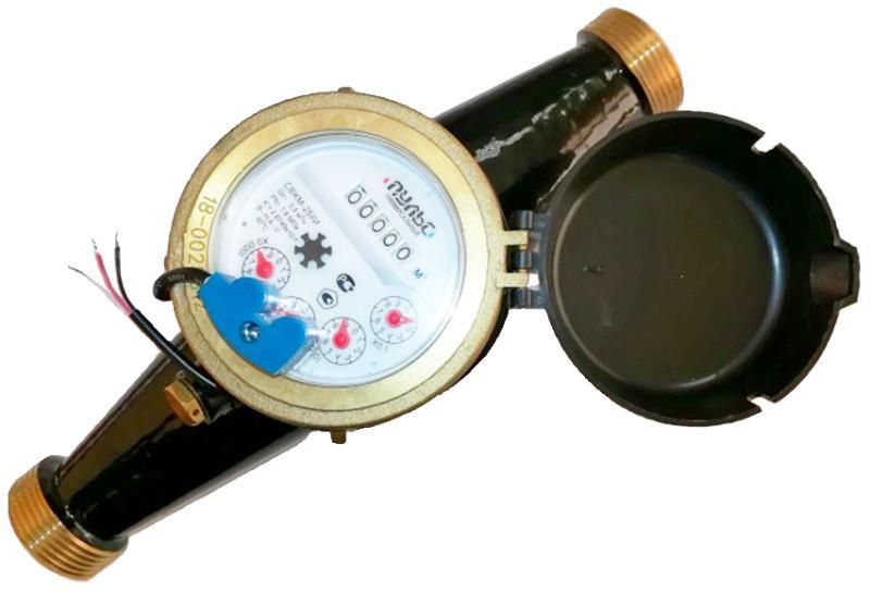 Счетчик воды ПУЛЬС СВКМ-25 У счетчик воды декаст общедомовой вскм 90 25 дг