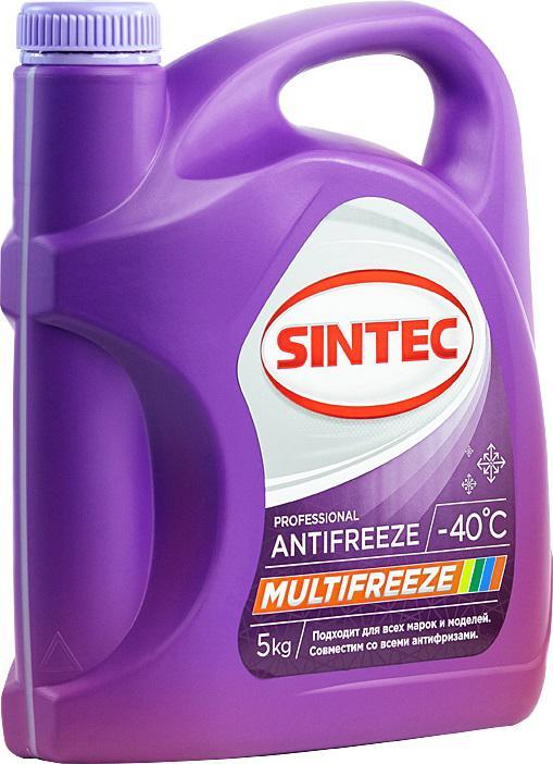 Антифриз фиолетовый Sintec Multifreeze (800534)