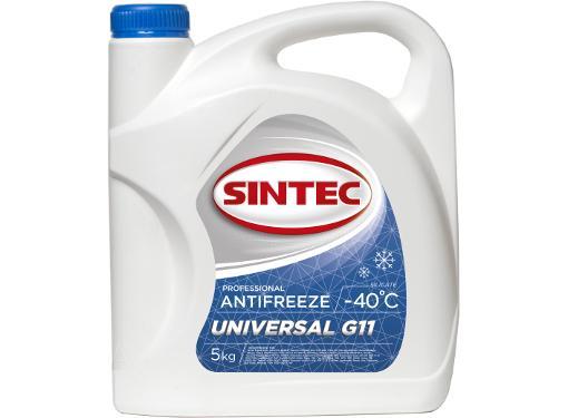 Антифриз синий SINTEC UNIVERSAL G11 (800522)