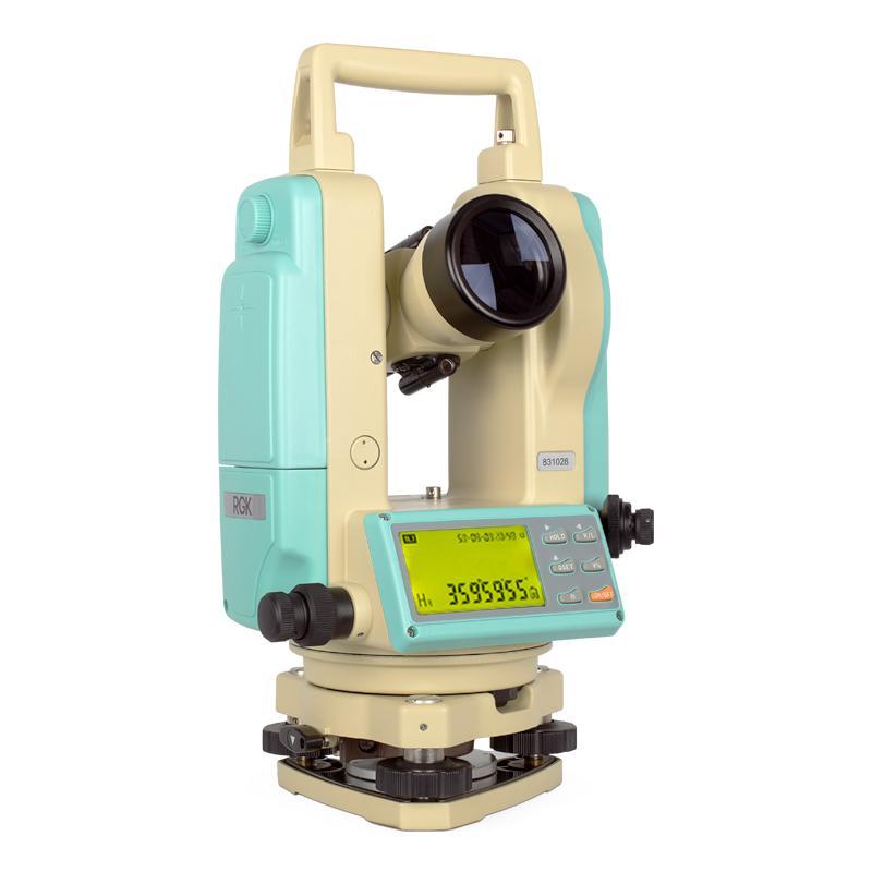 Теодолит Rgk T-02 + лазер ЦУ теодолит оптический rgk to 02 с поверкой