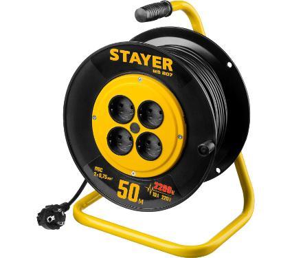 Удлинитель STAYER 55073-50 ПВС 2х0.75