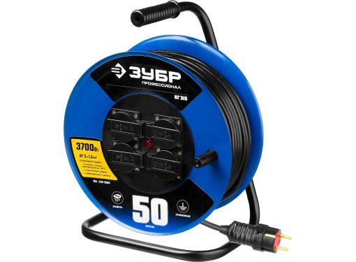 Удлинитель ЗУБР 55080-50 КГ 3х1.5