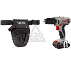 Набор CROWN Шуруповерт аккумуляторный CT21055L BMC + подарок Кобура WORKPRO W081016