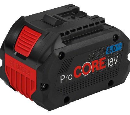 Аккумулятор BOSCH 18В 8Ач Li-Ion ProCORE (1600A016GK)