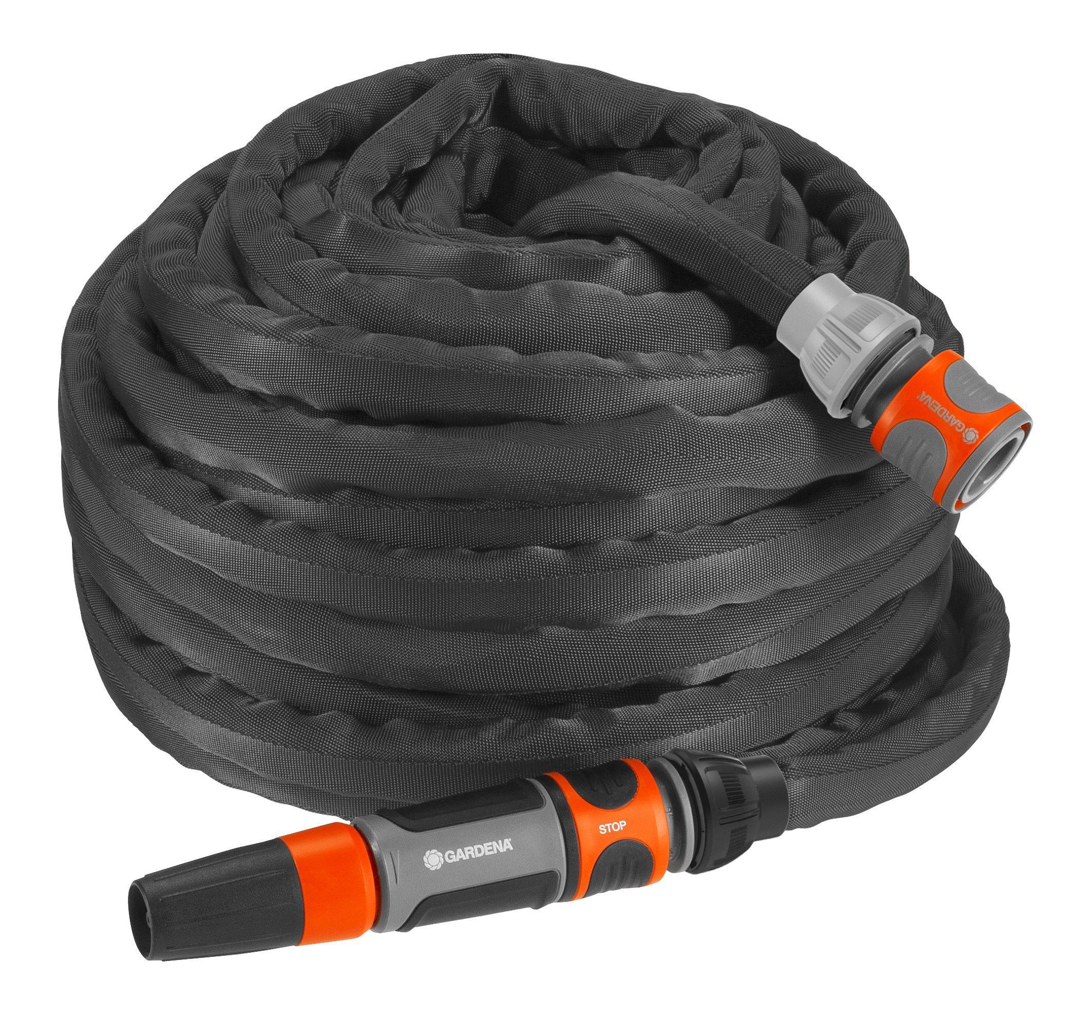 Шланг Gardena Liano 13 мм 1/2'' 20м 18435-20 set поливочный gardena 18502 20 000 00 hose 20 m tip for watering height adjustment protection from течи