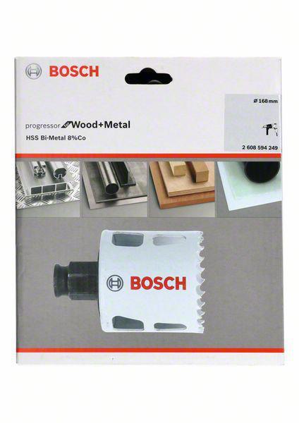 Коронка биметаллическая Bosch Ф168мм power change (2608594249)