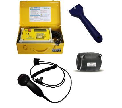 Набор NOWATECH Аппарат для сварки пластиковых труб ZERN-800 PLUS +Сканер SKAN +Скребок SKREB +Муфта PN16 SDR11 PE100 D75