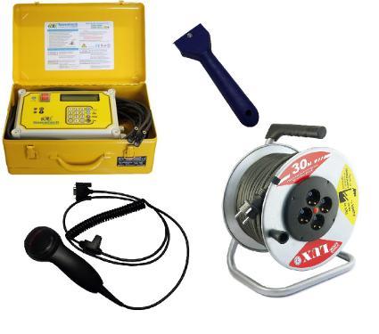 Набор NOWATECH Аппарат для сварки пластиковых труб ZEEN-800 PLUS +Сканер SKAN +Скребок SKREB +Удлинитель 44130 К4-Е-30 КГ