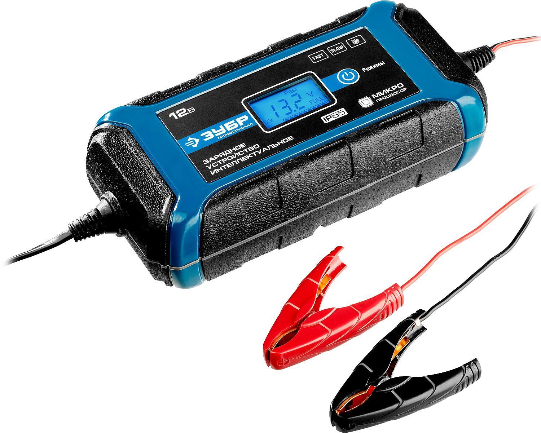 Фото - Зарядное устройство ЗУБР 59303 зарядное устройство зубр 59233 4