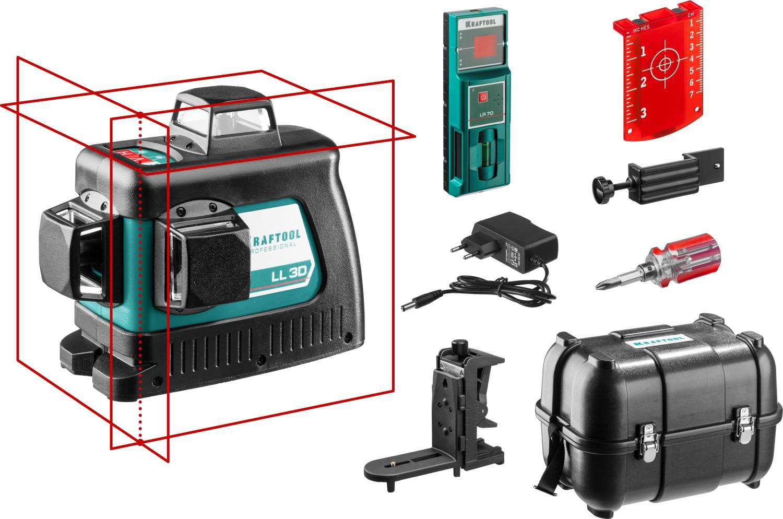 Уровень лазерный Kraftool 34640-4