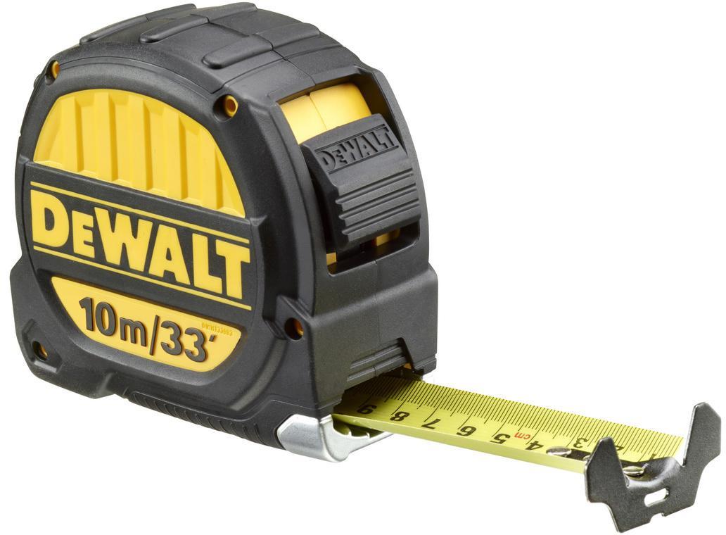 Рулетка Dewalt Dwht0-33993 брелок рулетка квадратный пластик оранжевый