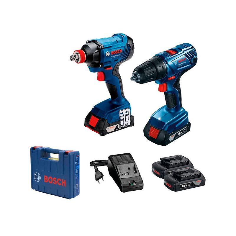 Набор Bosch Gdx 180-li + gsr 180-li 0.601.9g5.222