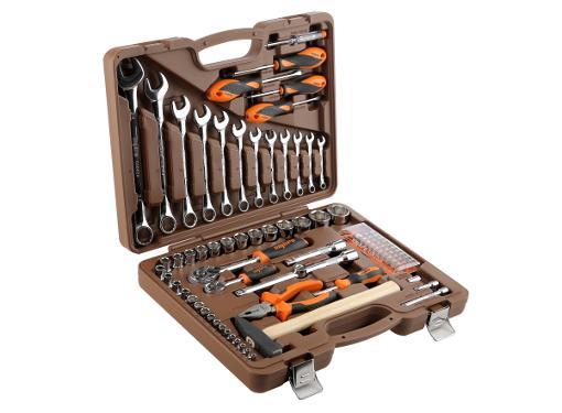 Набор инструментов OMBRA OMT88S в чемодане, 88 предметов