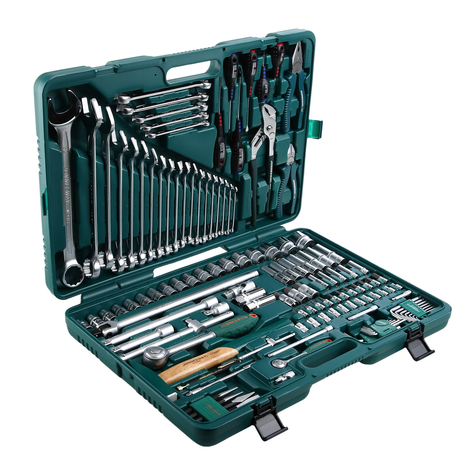 Набор инструментов Jonnesway S04h524128s пассатижи jonnesway p086