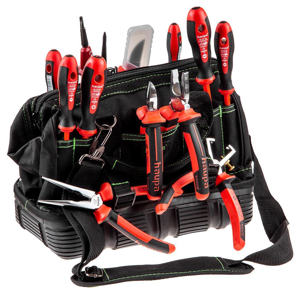 Набор инструментов для электрика, 13 предметов Haupa 220510 профессиональный набор инструментов 20 предметов haupa 220168