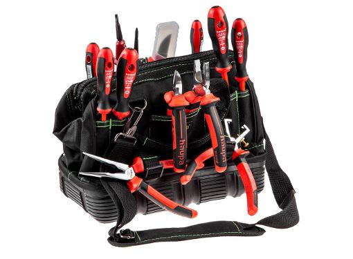 Набор инструментов для электрика, 13 предметов HAUPA 220510