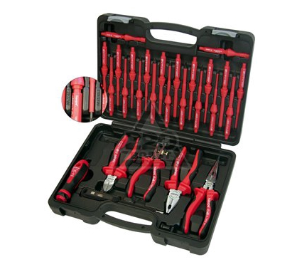 Набор инструментов в чемодане, 28 предметов HAUPA 102050