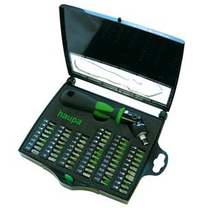 Отвертка с набором бит для точной работы Haupa 104006 отвертка с набором бит для точной работы skrab 42626