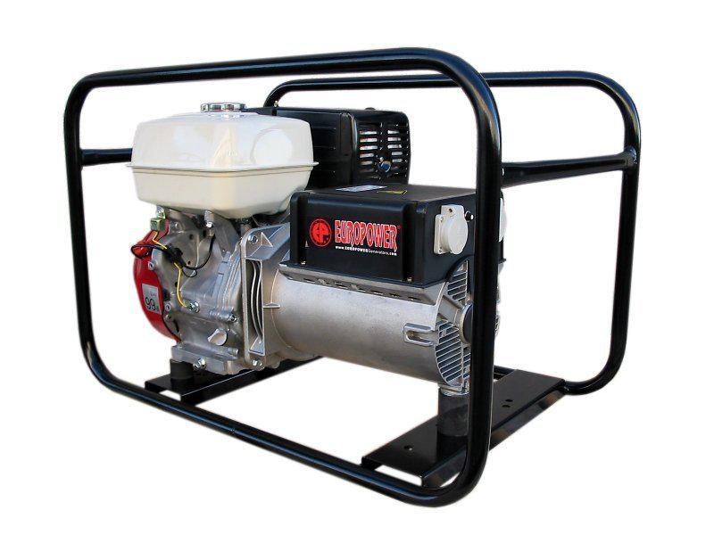 Бензиновый генератор Europower Ep6000 europower ep34tde