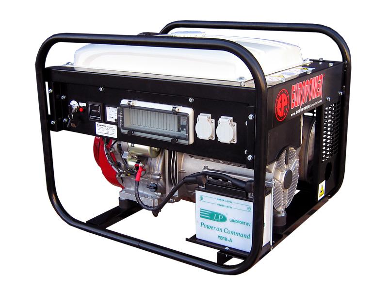 Бензиновый генератор Europower Ep7000le