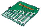 Набор рожковых гаечных ключей в чехле, 8 шт. JONNESWAY W25108S