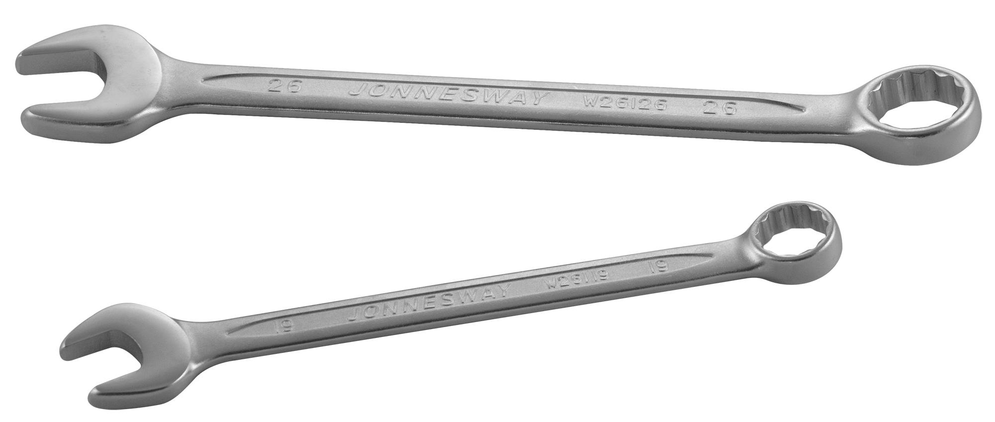 Ключ гаечный комбинированный 55х55 Jonnesway W26155 (55 мм)